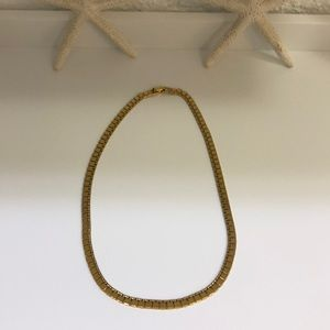 Jewelry - 16.5 inch  gold filled chocker necklace.